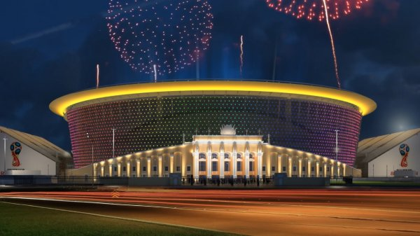 Telegraph считает «Екатеринбург-Арена» «безумным стадионом»