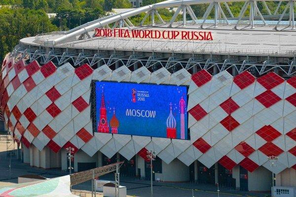 Фан-зона в Тушино у стадиона «Спартак» закрывается